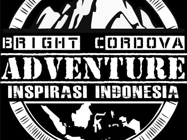 New Jersey n Logo : Bright Cordova Adventure Team