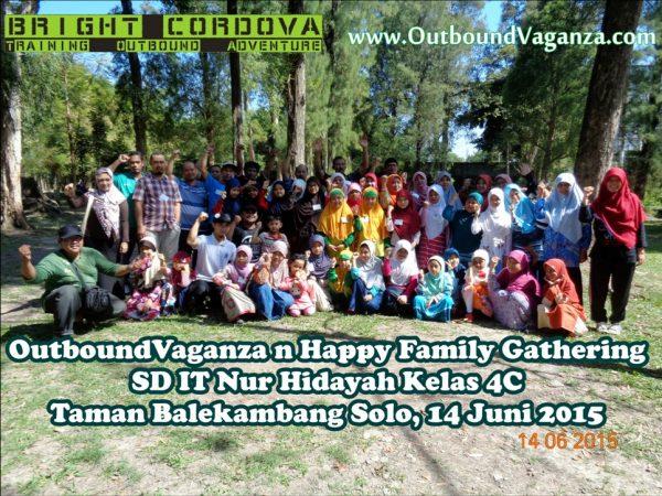 Outboundvaganza n Family Gathering with SD IT Nur Hidayah kelas 4C