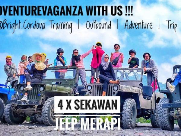 Lets AdventureVaganza Lava Tour Jeep Merapi With Us